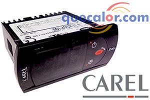 Control De  Temperatura CAREL PJEZS0P100, 1 Relevador Compresor ( 16 A ), 115 V, Entrada Digital, Terminales Removibles.  El Sensor Se Vende Por Separado.