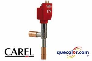 Valvula  De Expansion Electronica CAREL, Tamaño  09, Modelo E2V09BSF00. Hasta  1.0 TR ( R22@44 C Tc/-20 C Tev ) Conexion De 12-12 Mm De Cobre P/soldar.