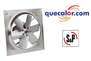 Extractor Axial A Prueba De Explosion HEP 630, 230-460/3/60V, 3/4 HP, Marca:Soler&Palau, Codigo:5HEP-630