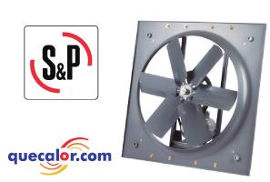 Extractor Axial HIT-1250, 208-230/460 V,  3/4 HP, Marca:Soler&Palau, Codigo:5HIT1250