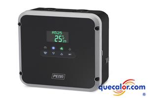 Control De Congeladores Con Funcion De Descongelado ( Defrost ) , Marca Penn By Johnson Controls , Modelo A525AEDN-0203C.