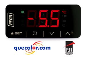 Control De Temperatura PENN  TC3221N7V-000D ,1 Relevador, 2 Entradas De Temperatura , Comunicacion Modbus, 230 V  ( No Incluye Sensores )