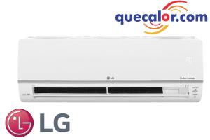 Minisplit Inverter WiFi LG DUALCOOL, 22000 BTU/h Enfriamiento, 20.0 SEER, Acabado Blanco, Anticorrosivo Goldfin, Compresor Dual Inverter, Inteligencia Artificial, Ahorro De Energia, Opera 220 Volts, Modelo: VP242CR
