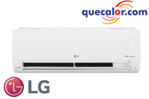 Equipo Minisplit Inverter LG DUALCOOL , 18000 BTU/h Enfriamiento, 17 SEER, Compresor Dual Inverter, Ahorro De Energia, Funcionamiento Silencioso, Opera 220 Volts, Modelo: VX182C9