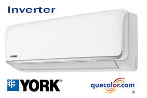 Minisplit Inverter YORK HighWall, 12000 Btu YHJE12ZX6AXBORX , Solo Enfriamiento ,  115/1/60 , 16.5 SEER