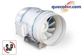 Extractor Helico Centrifugo En Linea TD 250/100 Marca: Soler & Palau Codigo: 5TD-250