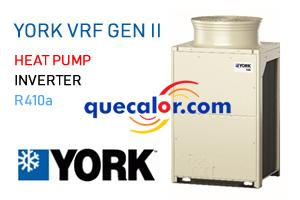 Unidad Condensadora de Flujo Variable de Refrigerante VRF York De 12 HP / 9.5 TR Nominales, Modelo JTOH120VPEUBS1 , Bomba De Calor, 460/3/60 , Generacion II