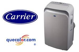 Aire Acondicionado Portátil CARRIER 52PTC121D, 12000 Btu, 110 V. Refrigerante Ecologico R410a