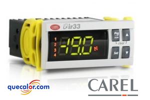 Controlador De Temperatura Universal CAREL IR33W7HR20 , 2 Entradas De Temperatura, 2 Salidas De Relevadores, 2 Entradas Digitales, Montaje En Panel, 115 A 230 Volts