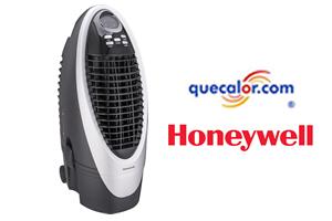 Enfriador De Aire Evaporativo Tipo Cooler Marca Honeywell Portatil Con Control Remoto, Modelo CS10XE Con 3 Funciones: Enfriador, Ventilador Y Humidificador. Capacidad De 10 Litros De Agua. Tanque De Agua Desmotable...