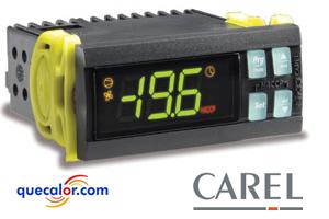 Control De Temperatura CAREL IR33S0EA00, 2 Relevadores ( COMPRESOR, AUXILIAR ), 230/1/60 V, 2 Entradas NTC, 1 Entrada Digital Multifuncion, Buzzer Interno