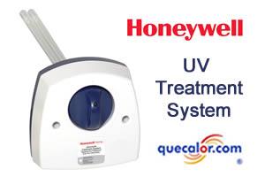 Sistema De Luz Ultravioleta Para Tratamiento De Aire, Marca Honeywell ,  Modelo: UV100A1059,  Colocacion En Ducto De Descarga.  Voltaje 120 Volts.