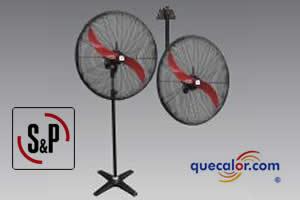 Ventilador De Aire Industrial CBP-W 600, 127V, Diametro: 600mm Marca:Soler&Palau, Codigo:5CBPW-600