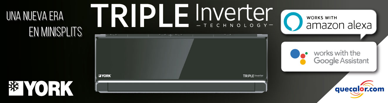 Minisplit Triple Inverter York Promo
