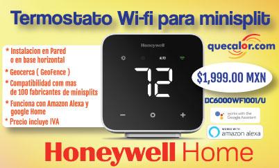 Termostato Honeywell WiFi Alexa Promo