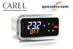 Control  MicroChiller2 SE Para  Chillers,Hasta 2 Compresores, Montaje En Panel. Requiere Arnes Y Sensores ( Por Separado ) , Con Bluetooth, Modelo: UCHBP00000100
