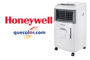 Enfriador De Aire Evaporativo Tipo Cooler Marca Honeywell Portatil Con Control Remoto, Modelo CL151 Con 3 Funciones: Enfriador, Ventilador Y Humidificador. Capacidad De 15 Litros De Agua. Compartimiento Para Hielos.