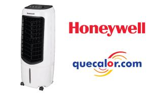 Enfriador De Aire Evaporativo Tipo Cooler Marca Honeywell Portatil Con Control Remoto, Modelo TC10PE Con 3 Funciones: Enfriador, Ventilador Y Humidificador. Capacidad De 10 Litros De Agua. Consumo De 50 Watts.