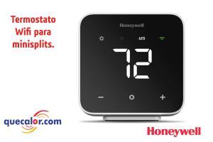 Termostato Para Minisplit WiFi Resideo ( Honeywell ) Modelo DC6000WF1001/U,  Permite Controlar Tu Minisplit Con Tu Celular Asi Como Aistentes De Voz Alexa Y Google Home.