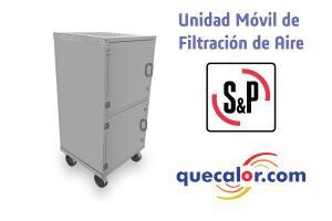 Unidad Movil De Filtracion De Aire Marca Soler & Palau, Modelo FC 310, Voltaje 115/1/60